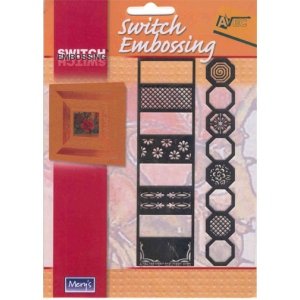 Switch Embossing Stencil - Octagon and Rectangle