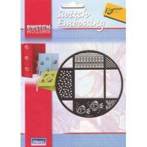 Stencils Switch Embossing Stencil - Circle