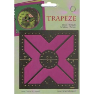 Trapeze Stencil Square Cross (TA5409)