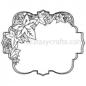 CE Foam Stamps - Florentine Medallion