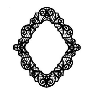 Foam Mounted Cling Stamps - Pacific Lace