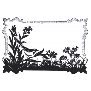Cling Stamps - Birdsong Meadow