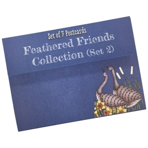 Clarity Stamps - Feathered Friends Postcards