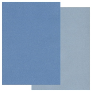 Two Tone Parchment Paper -Blue