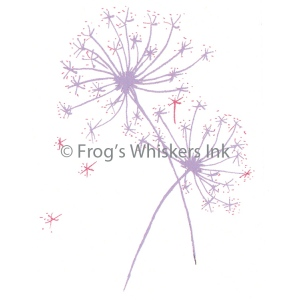 Frog's Whiskers Stamps - Dandelion