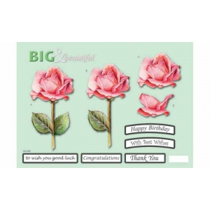 Craft UK B&B Pink Rose