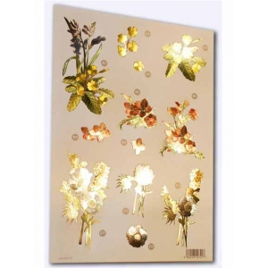 Craft UK - Wildflowers Metallic