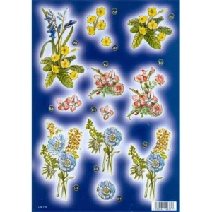 Craft UK - Wildflowers with gold