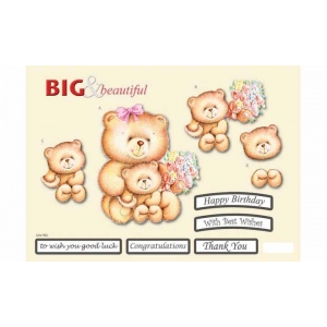 Craft UK B&B Big & Little Bear