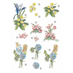 Craft UK Floral -Flower Bunches