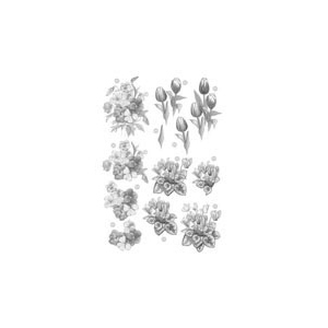Craft UK Floral -Tulip - Silver