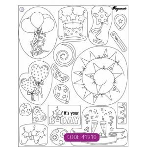 Clear Stamps - Birthday