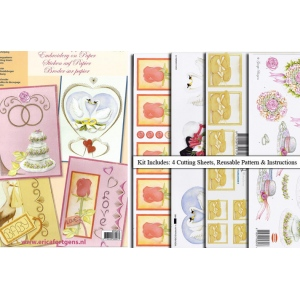 Embroidery & 3D Paper Kit-Special Occasions