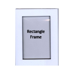 Pontura Foam Paint Frames - Rectangle