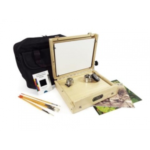 Guerilla Painter Cigar Box™ Oil & Acrylic Plein Air Kit: 8 x 10
