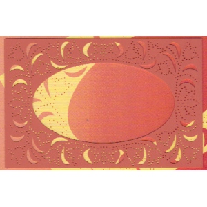 Ornare Stencil - Oval Center