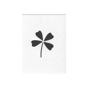 Iris Folding Cards -Clover Leaf(WM2029)