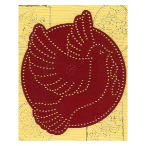 Marianne Design Ornare Dove Piercing Template - Small (pr0544)