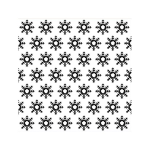 Background Embossing Folder - Snowflakes