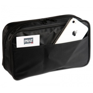 "Prat Paris Start Superior Pencil Case Size: 5"" x 8"" x 2"" - Black"