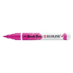 Talens® Ecoline® Watercolor Brush Pen Magenta: Red/Pink, Brush Nib, Brush Pen, Watercolor, (model 11503370), price per each