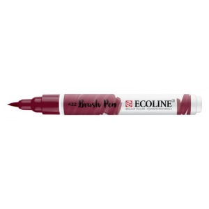 Talens® Ecoline® Watercolor Brush Pen Red Brown: Red/Pink, Brush Nib, Brush Pen, Watercolor, (model 11504220), price per each