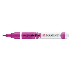 Talens® Ecoline® Watercolor Brush Pen Red Violet: Purple, Brush Nib, Brush Pen, Watercolor, (model 11505450), price per each