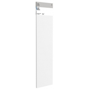 "Winsor & Newton™  Cotton Canvas 12"" x 48"": White/Ivory, Panel, Cotton, 12"" x 48"", Acrylic, Oil, (model 6201011), price per each"