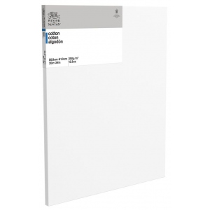 "Winsor & Newton™  Cotton Canvas 20"" x 24"": White/Ivory, Panel, Cotton, 20"" x 24"", Acrylic, Oil, (model 6201022), price per each"