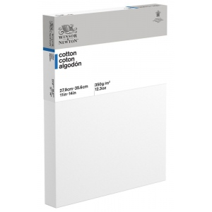 Winsor & Newton™  Cotton Canvas Deep Edge White/Ivory Panel