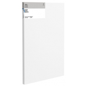 "Winsor & Newton™  Cotton Canvas 24"" x 36"" Deep Edge: White/Ivory, Panel, Cotton, 24"" x 36"", Acrylic, Oil, (model 6201102), price per each"