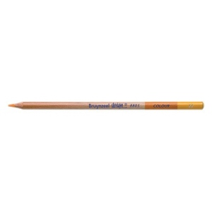 Bruynzeel® Design® Colored Pencil Dark Yellow: Yellow, Pencil, Colored, (model 880522K), price per dozen (12-pack)