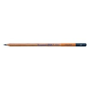 Bruynzeel® Design® Colored Pencil Prussian Blue: Blue, Pencil, Colored, (model 880558K), price per dozen (12-pack)