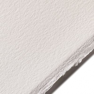 "Arches® BFK Rives® 22"" x 30"" 280g White: White/Ivory, Sheet, 10 Sheets, 22"" x 30"", 280 g, (model A77-BFK280WH2210), price per 10 Sheets"