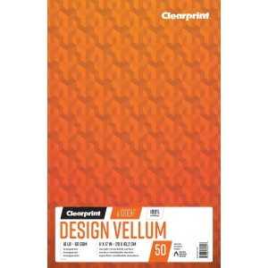 Clearprint® 1000H® Design Vellum Book
