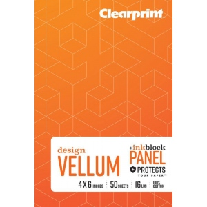 "Clearprint® Field Book Plain 6"" x 8"": Book, 50 Sheets, 4"" x 6"", (model CVB46P2), price per each"