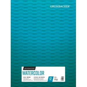 "Grumbacher® Cold Press Watercolor Paper Fold Over 15"" x 20"": 15 Sheets, 15"" x 20"", Watercolor, (model G26460602211), price per each"