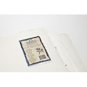 "Indigo Artpapers Watercolor 75% Cotton/25% Plant Fiber 22"" x 30"" 640g: 3 Sheets, 22"" x 30"", Watercolor, 640 g, (model IAPCF61), price per each"
