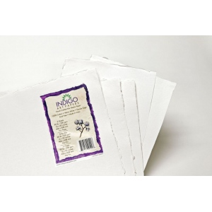 "Indigo Artpapers Mixed Media 100% Cotton 16"" x 20"" 200g: 5 Sheets, 16"" x 20"", 200 g, (model IAPCO2001620MM), price per each"