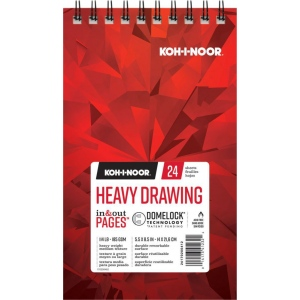 Koh-I-Noor® Heavy Drawing Paper Pad
