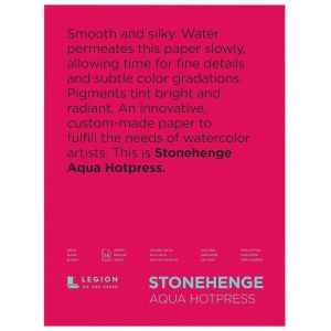 Stonehenge® Aqua Hot Press Watercolor Blocks