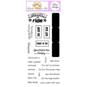 Frantic Stamper Clear Stamp Set - Life is a Carnival