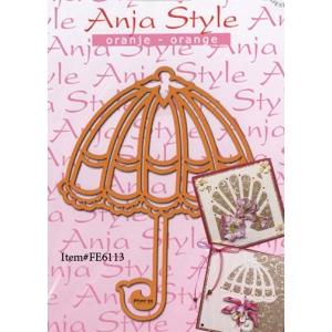 Stencil - Embossing - Anja Style Umbrella