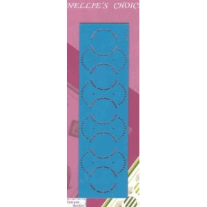 Stencils Fantasie Border Template - Circle/fan