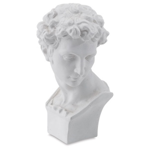Natural Pigments Drawing Plaster Cast Miniature David