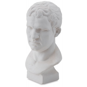 Natural Pigments Drawing Plaster Cast Miniature Julius Ceasar