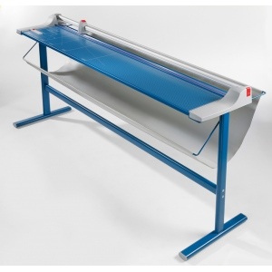"Dahle 472S Premium LF Rolling Trimmer w/stand - 72"" cutting length"