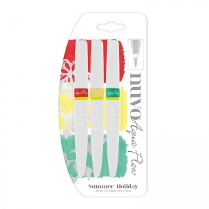 Tonic Studios Nuvo Aqua Flow Pens - Summer Holiday - 892N