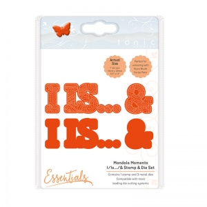 Tonic Studios Mandala Moments - I/ Is / & Stamp & Die Set - 1547E