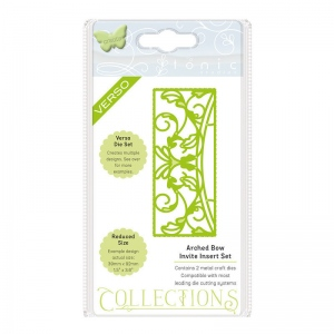 Tonic Studios Invite Die Collection - Arched Bow - 1506E